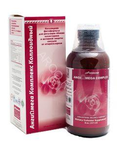 АнгиОмега Комплекс, защита и лечение сосудов, коллоидная фитоформула Эд Медицин