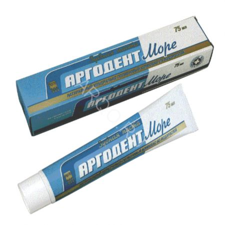 Паста зубная «Аргодент Море», 75 мл